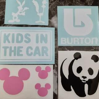 KIDS IN THE CARステッカー他  5枚