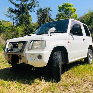 車検付 三菱 パジェロミニ 4WD ターボ H58A