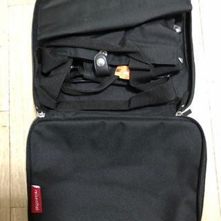 【ネット決済・配送可】旅行用折りたたみバッグ(キャスター付き)