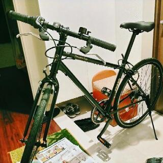 クロスバイク 26インチ ブラック