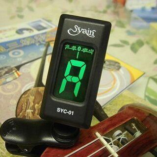 1.190円 簡単調弦チューナー 沖縄三線及び弦楽器全般に使用OK