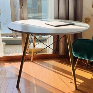 ゴールド足 円形 テーブル サークル