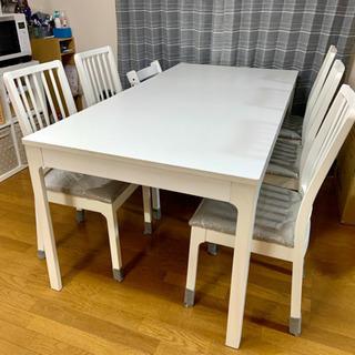 IKEAのEKEDALEN ダイニングテーブルと椅子セット