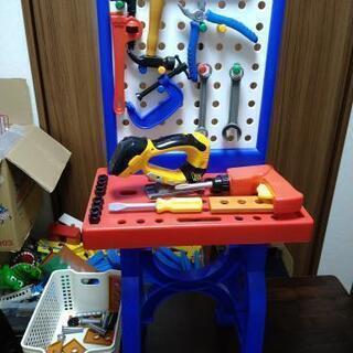 おもちゃの工具セット オモチャの大工さんセット