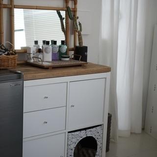 【ネット決済】IKEA カラックス ラタンミラー ルールヴィグ ...