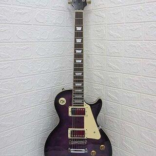 ss2239 ブリッツ エレキギター パープル レオパード…