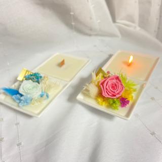 atelier roseオリジナルメッセージキャンドル