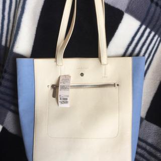 ★新品・未使用★レディースバッグ【カラーコンビトートバッグ】値下...