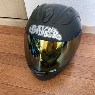 フルフェイスヘルメット ミラーシールド XL(~61cm)
