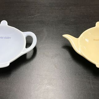 ティーポット型 小皿 2枚セット marie claire A...
