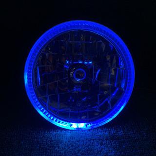 【ネット決済・配送可】LEDランプ付き‼️新品ヘッドライト‼️