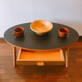 【ネット決済】引き出し付きローテーブル