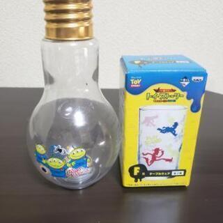トイストーリー 電球ボトル&一番くじコップ