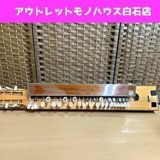 現状品 菊八重 高級大正琴 F28OS 号 407 6弦 …