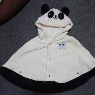 パンダさん着ぐるみ風ポンチョ♥️