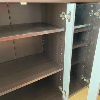 棚が自由自在に動かせる可動式の棚(3段) - 売ります・あげます