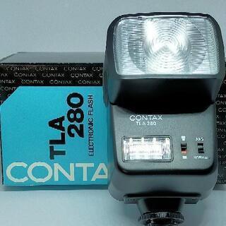 CONTAX TLA280 ストロボ + エクステンションコード...