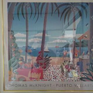 絵画 トーマス マックナイト 南の島