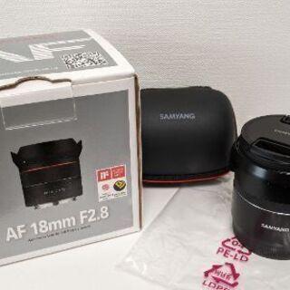 [美品]Samyang 18mm F2.8 Sony レンズガー...