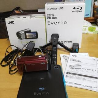 JVC Everio GZ-HM460RとCU-BD5セット