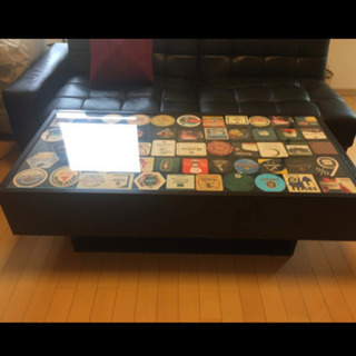 IKEA ガラス ローテーブル