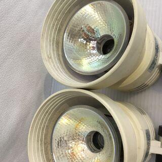 白熱灯照明器具 スポットライト 2個セット ランプ 85W ナショナル MSKD 100V − 福井県