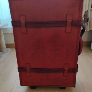 豚革 スーツケース