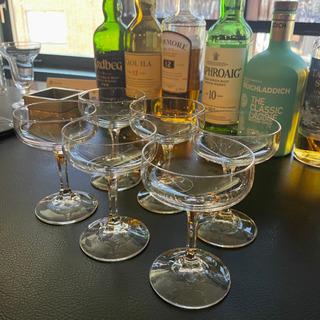 カクテルグラス 6個セット ワイングラス