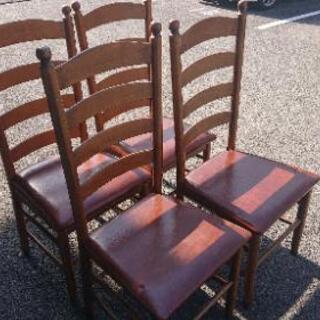 椅子4脚まとめて