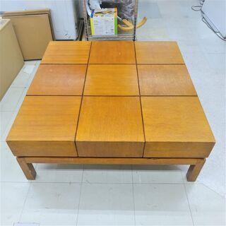 USED 天板スライド式 収納付きセンターテーブル