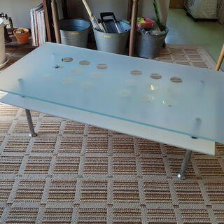 強化ガラス センターテーブル