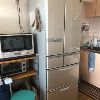 シャープ冷蔵庫★6ドア大型465L 中古美品の画像