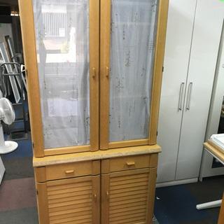 🌸激安食器棚🔰大阪市内配達可能🉐⭕️保証付き🆘