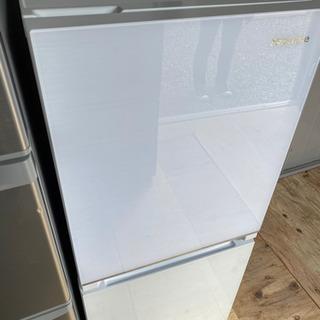 激安‼️ハイセンス ガラストップ冷蔵庫 138L 2020…