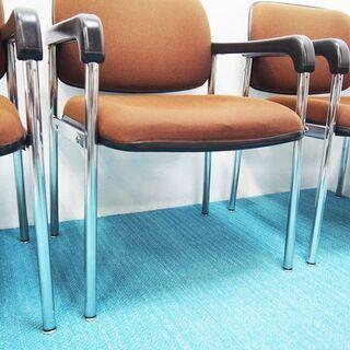 KOKUYO コクヨ ミーティングチェア 事務椅子 4脚セット 一人用 (AA45) − 京都府