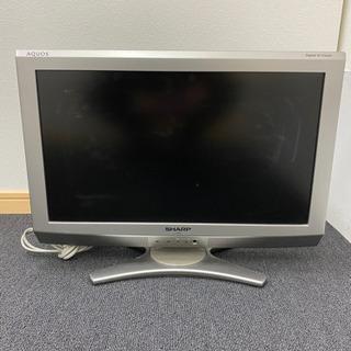 2009年製 20インチ AQUOS液晶テレビ(決定しました!)