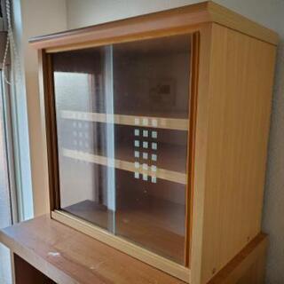 【決まりました】レンジ台+食器棚の画像