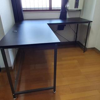 パソコンデスク  L字型 木製 幅156cm 奥行1560…
