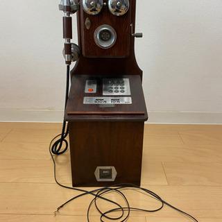 レトロ調電話機