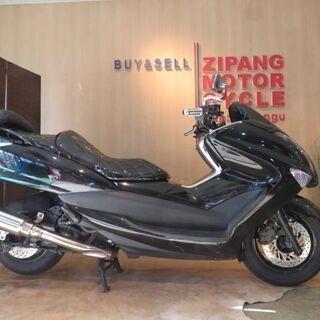 □ヤマハ マジェスティ 250 JBK-SG20J ブラック 走...