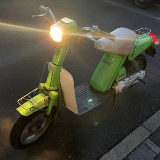 ヤマハ YAMAHA パッソル 50cc 原付 エンジン始…