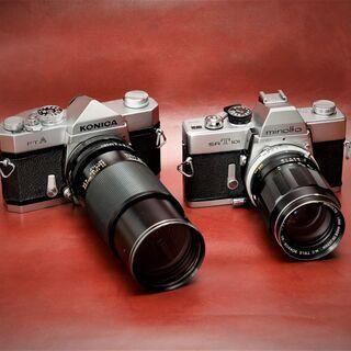 ミノルタSRT101&ロッコール135mmF3.5/コニカ…