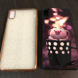 【ネット決済・配送可】iPhone Xs Max ケース(2個)