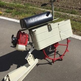 丸山 乗用溝切り機 MKF-A430 動作確認済み!