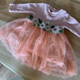 中古 ベビードレス ワンピース 80