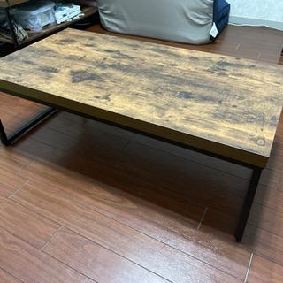 ニトリ ローテーブル ビンテージ アイアン