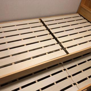 【ネット決済】引き出し型 二段ベッド