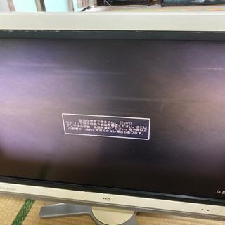 テレビ(AQUOS)32インチ