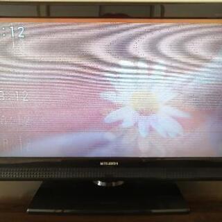 【ジャンク】32型液晶テレビ 三菱REAL