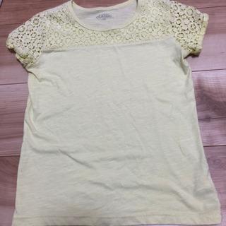 130センチ レース袖 Tシャツ